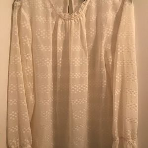 Liz Claiborne Sheer Blouse XL
